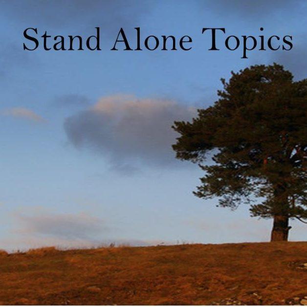 Stand Alone Topics